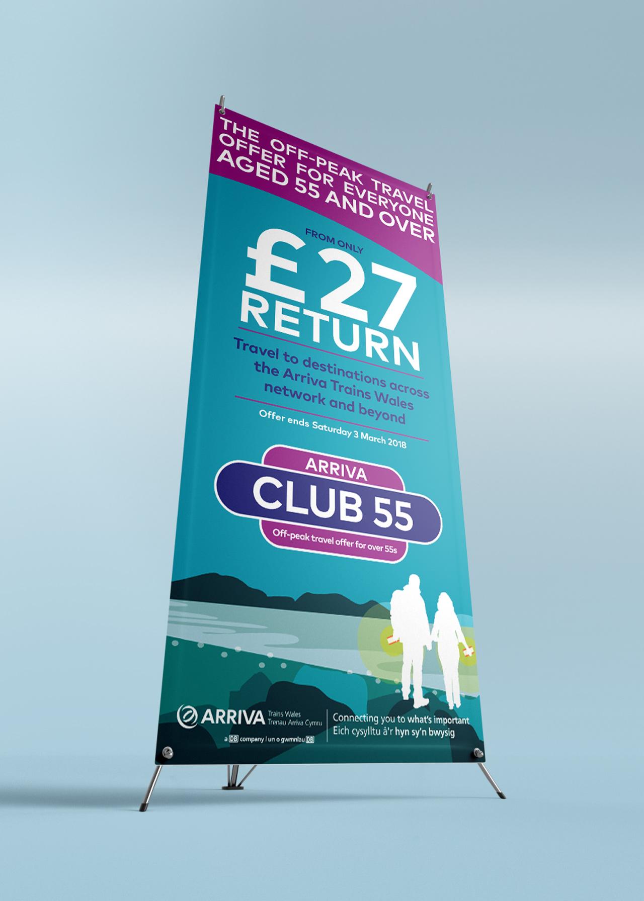 Club 55 ATW banner