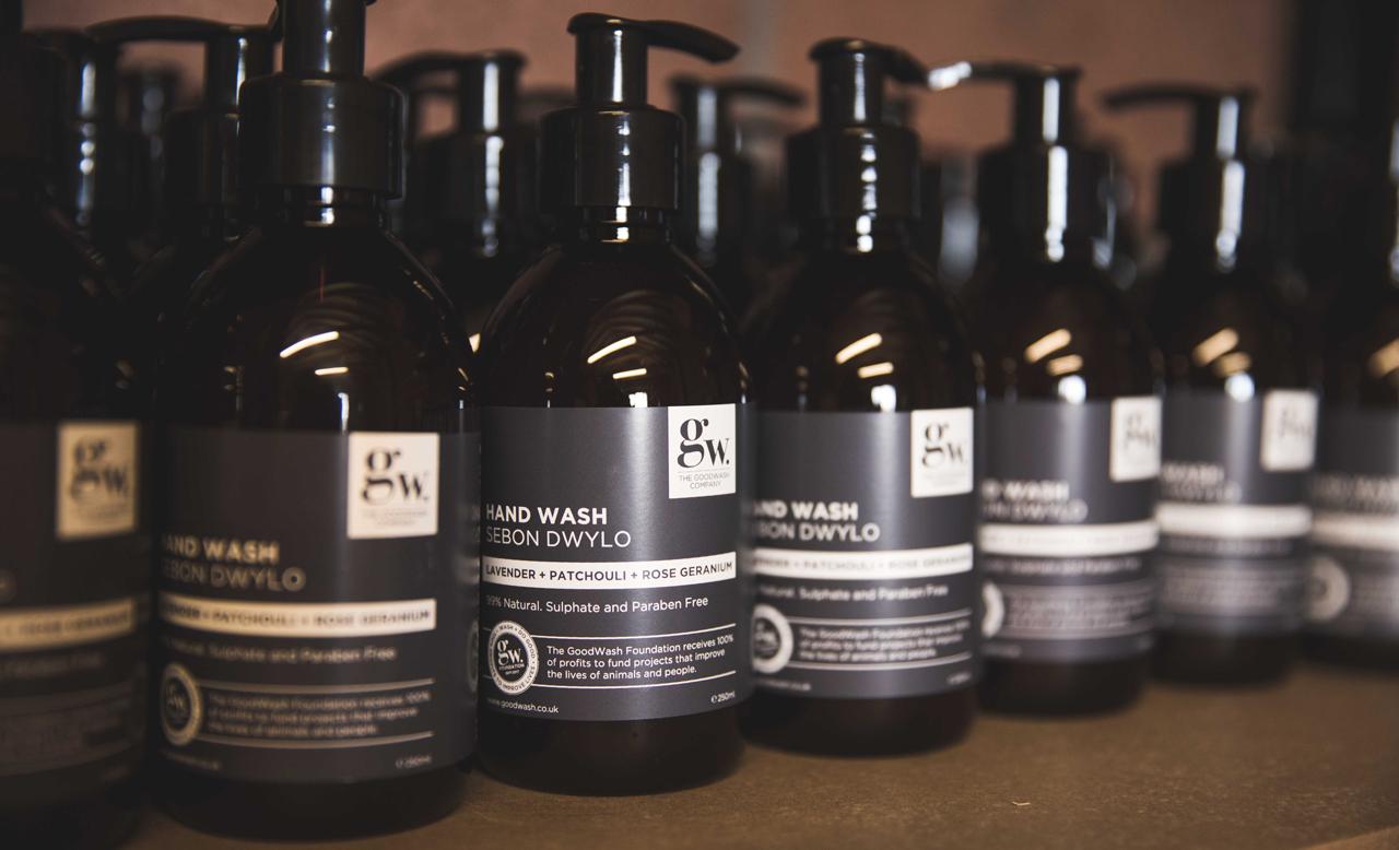 Goodwash company bottles