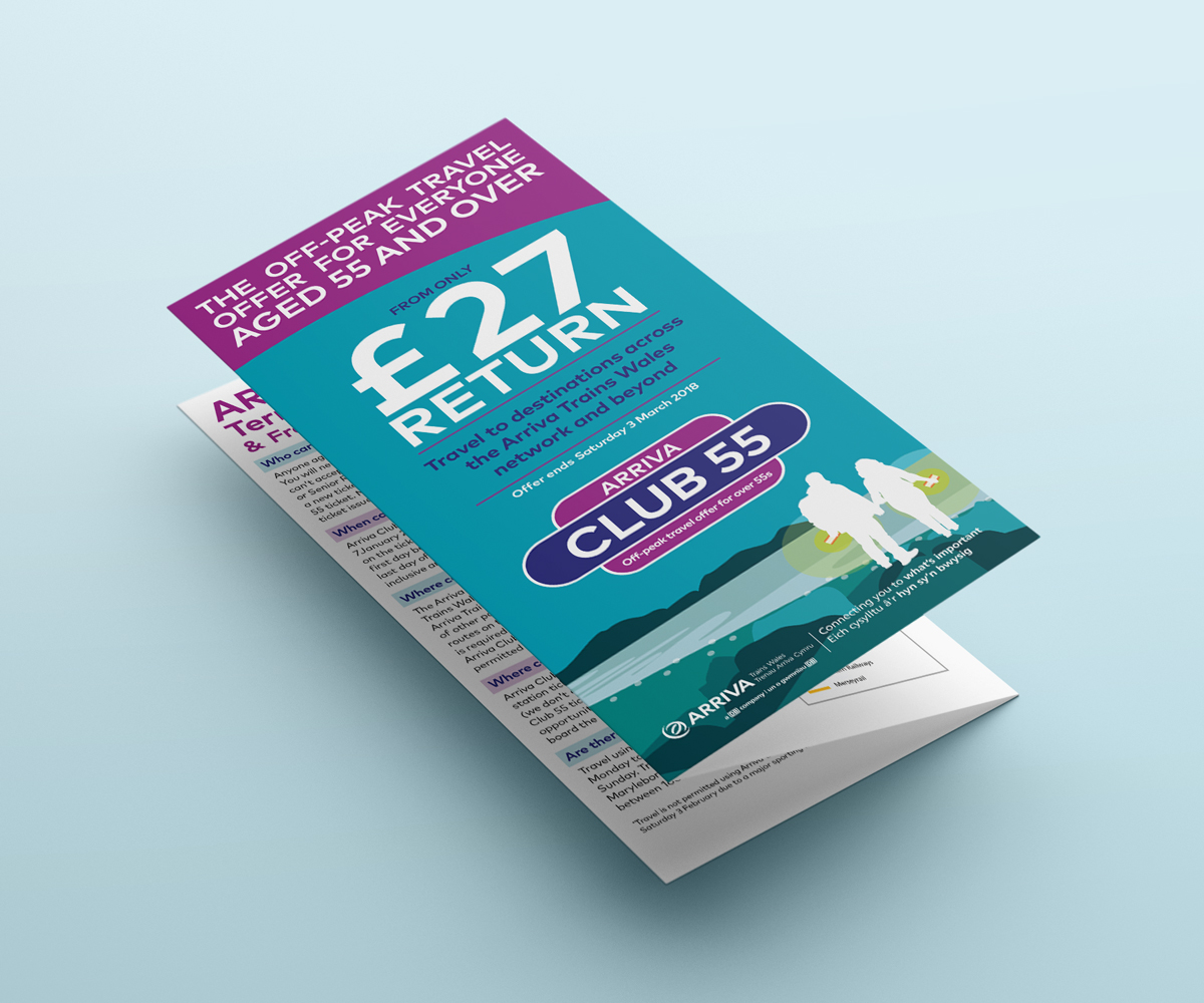Club 55 ATW leaflet closed