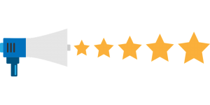 megaphone 5 stars