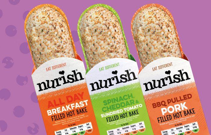 Nurish bakes flavour range