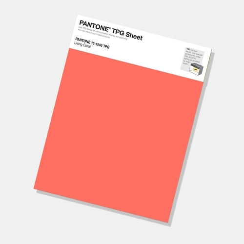 Pantone living coral colour of the year 2019